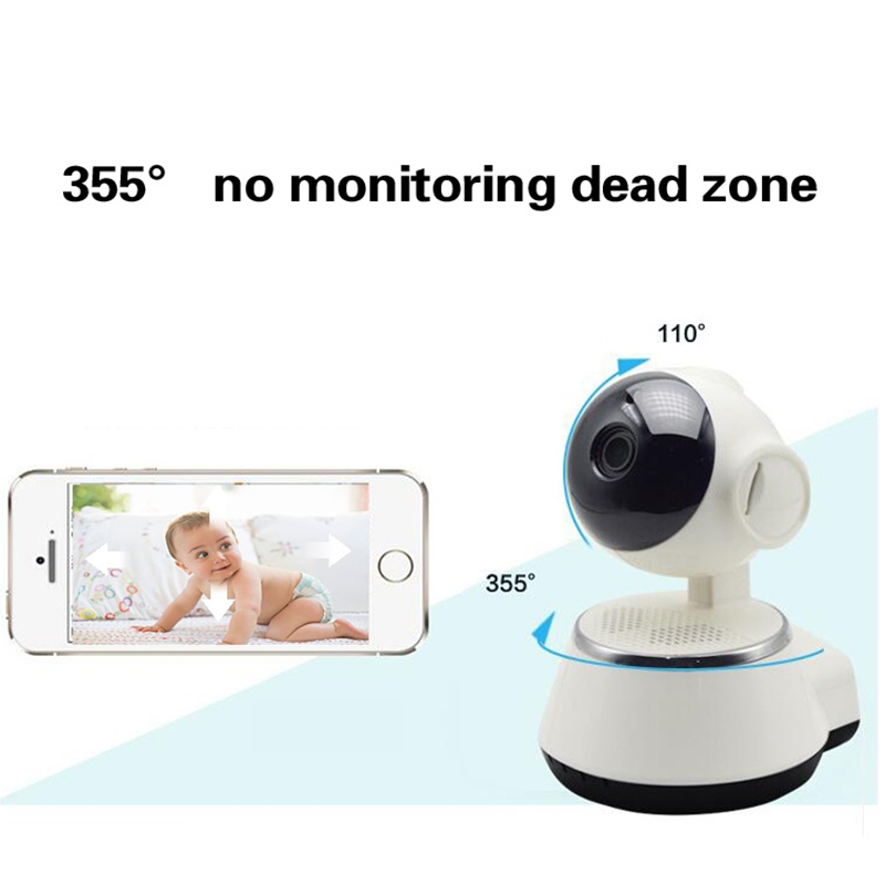Home Security IR Cut Night Vision IP Camera Wireless Surveillance Wifi 720P CCTV Camera Baby Monitor 32GB 64GB Memory TF card<br>