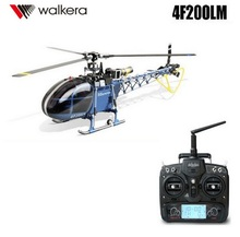 Walkera 4F200LM Metal Flybarless RC Helicopter With DEVO 7