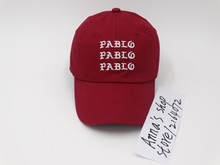 Kanye West pablo Dad Hat EXCLUSIVE Release Limited Unisex red i feel like pablo cap Popular Fashion Baseball Hat