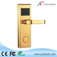 Smart design swiping card digital door lock Intelligent hotel lock for access control system