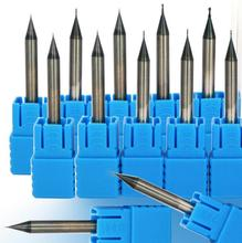 R0.1 R0.15 R0.2 R0.25 R0.3 R0.4 CONVEX  HRC60 2 Flutes Milling tools Milling cutter Ball nose End Mill CNC router bits