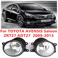 for Toyota Avensis Saloon (ZRT27 ADT 27) 2009/10/11/-2015 FOG LAMPS Fog Lights Halogen car styling 81210-0D040(China)