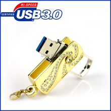 USB3.0 usb flash drive 64GB,  Stainless steel rotary usb stick 32gb, USB Flash Drive 8GB 16GB 32GB Memory Stick  Pen Drives