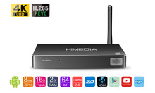 Newest, HIMEDIA H8, 8 cores / octa-core chips Android TV Box, Home TV Network player, 3D 4K UHD,Set-Top Box, Free&fast shippment