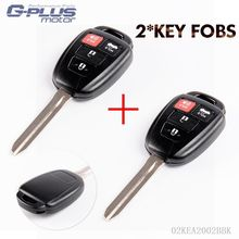 Case Only For 2012 2013 2014 Toyota Camry Entry Remote Head Key Fob HYQ12BDM