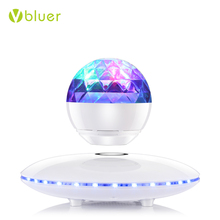 Unique Hot Selling Wireless Speakers Bluetooth 2017 Portable Levitating Bluetooth Speaker with Colorful Disco LED Lights