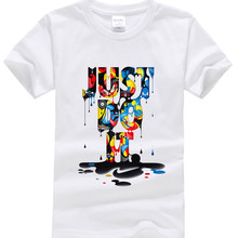 Boy t Shirts for Children Cotton Summer just do it Print T-Shirts for Girl Kids Clothes Short Sleeve Tops Tees 4 6 8 11 12 Year(China)