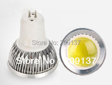 Hot Selling 5W GU5.3/MR16 110V-240V Dimmmable/ Non Dimmable COB LED Light Lamp Bulb Spotlight Cool /Warm White Free Shipping(China)