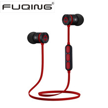 New Sport Running Bluetooth Headphone Magnetic suction Wireless Earphone headset stereo Earbuds earpiece With Mic for all phone