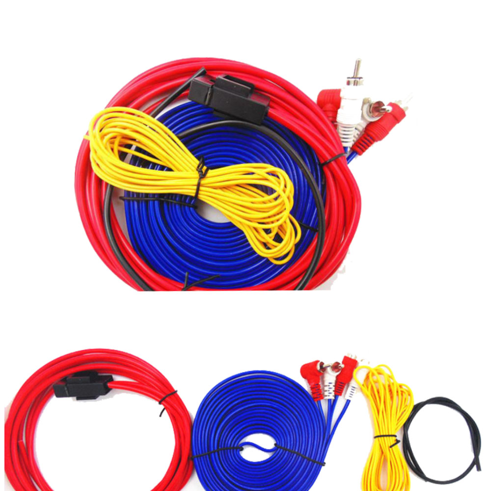 Car Audio Subwoofer Installation Wire Cable Kit Wiring Kits Accessories
