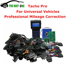 Professional Speedometer Repair Kit Tacho Pro 2008 July Unlock Version Dash Programmer Tacho Pro Universal Odometer Programmer(China)