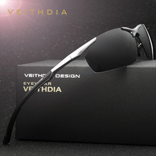 VEITHDIA 2017 Aluminum Alloy Frame HD Polarized Sunglasses Men Driving Sun Glasses oculos Male Eyewear For Men 6592 Accessories