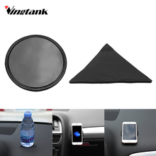 Mini Anti-Slip Car Pad Car Mobile Phone Holder Sticky Gel Pad Wall Sticker Dashboard Mat Sticky Gel Pad(China)