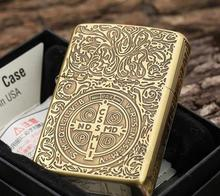Free 1PC  high quality delivery of Constantine lighter box of kerosene windproof lighter 111