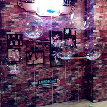 10pcs/lot 20/24/32 inch Clear Balloons Transparent Air Inflatable Balloon Wedding Birthday Party Decoration Toys Gift Globos