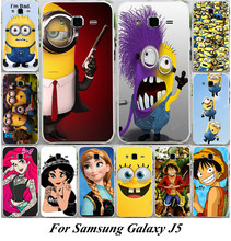 Cartoon TV Despicable Me Minions One Piece Gru Nefario Agnes PC Hard Phone Case Cover For Samsung Galaxy J5 J500 J500F SM-J500