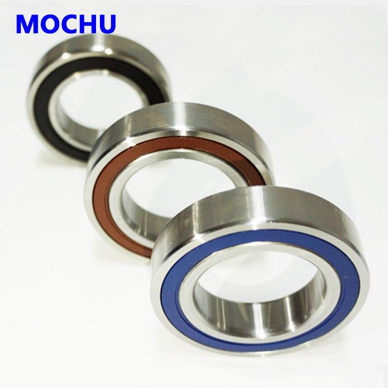 1pcs MOCHU 7005 7005C 2RZ HQ1 P4 25x47x12 Sealed Angular Contact Bearings Speed Spindle Bearings CNC ABEC-7 SI3N4 Ceramic Ball<br>