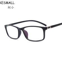 KESMALL 2017 Prescription Glasses Women Men Fashion Optical Eyeglasses Frame With Myopia Lens 1.56 1.61 Oculos De Grau YJ574P(China)