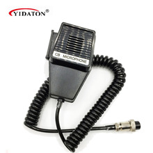 Workman CM4 CB Radio Speaker Mic Microphone 4 Pin for Cobra/Uniden Car CB Radio Walkie Talkie Hf Transceiver Accessories D032(China)