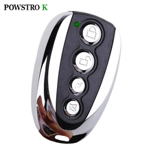 433MHz Wireless Auto Remote Control Duplicator Garage Motorcyle Car Alarm Copy Remote Controller with Battery