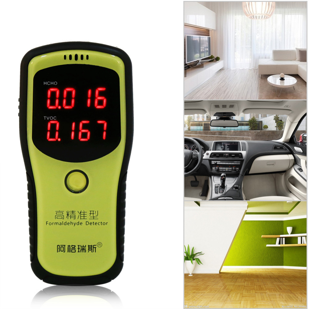 Formaldehyde TVOC HCHO Detector Meter Indoor Home Air Quality Tester Analyzers Home Protection for Pregnant Women Children<br><br>Aliexpress