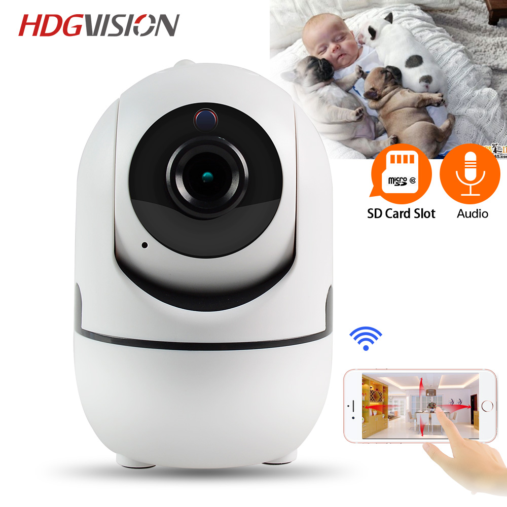 Hdgvision 720P WiFi Camera 1MP Full HD Pan/Tilt Video Surveillance Indoor Home Security IP Camera Baby Monitor<br>
