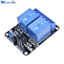 5V 2-Channel 2 Channel Relay Module Shiled Relay Expansion Board Low Level Triggered 2-Way Relay Module Arduino ARM PIC AVR