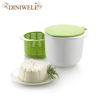 DINIWELL Microwave Cheese Maker Contains Recipes Plastic Healthy For Making Cheese Home Cooking Kitchen Dessert Pastry Pie Tool(China)