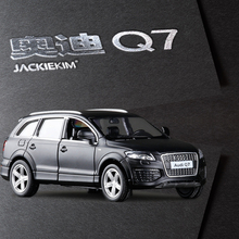 Brand New RMZ City Audi Q7 V12 Model Car 1:36 5inch Diecast Metal Cars Toy With Pull Back For Kids GiftToys Free shipping(China)