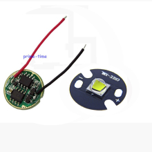 2 sets Cree XML2 LED White Color 10W LED Emitter Chip 16mm/20mm PCB +DC3.7V 2.5A LED Driver for XM-L2 flashlight parts