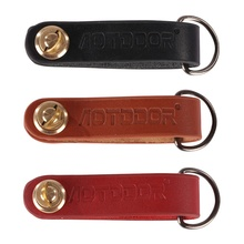 2017 New Outdoor Leather Compact Key Organizer Key Ring Portable Key Chain Multifunction Tool Key Chain Rings