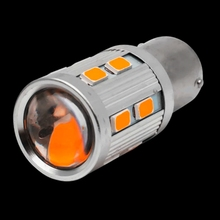 Super Bright 1156PY 7507 PY21W BAU15S 16 led 5630 smd Car Rear Direction Indicator auto Front Turn Signals Light amber yellow(China)