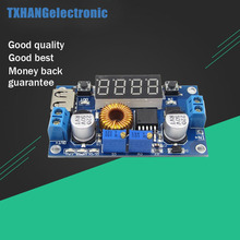 Integrated Circuits DC-DC 5A LED Drive Lithium Battery Charger Module Voltmeter Ammeter LED Digit Display(China)