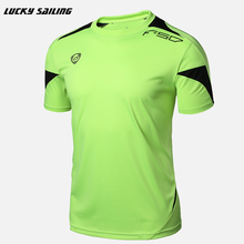 LS Brand Summer Style Men Short Sleeve O-Neck T Shirts Outside Wear Quick Dry For Crossfit T-Shirt Tops & Tees 2016(China)