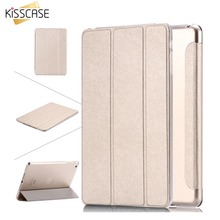 Kisscase para apple ipad air 5 6 air 2 pu leather case para ipad mini 1 2 retina 3 7.9 tampa do suporte de luxo claro case mini 2 mini 3