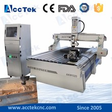 China wood cnc router prices/wood working cnc machine with dsp controller/vacuum table 1325 woodworking machine dust collector(China)