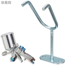 Gravity Feed Paint Spray Gun Holder Stand HVLP Wall Bench Mount Hook Booth Cup DAJ9260(China)