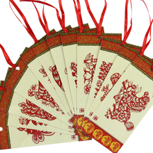 Paper-cut Bookmarks Peking Opera Facebook Cutlery Gift To Send Foreigners Abroad Small Gifts JZSQ101