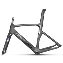 LEADNOVO 2017 new concept carbon road  bike frame UD glossy/matte light bicycle frameset XXS/XS/S/M/L/XL customized painted