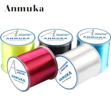 Anmuka 500m 1Pcs 7 Colors Nylon Fishing Line Size 0.4#~8.0#(China)
