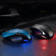 New High Quality 2.4GHZ 2400DPI Optical Wireless Mouse LED Colorful Breath Light Game Mouse Notebook PC Computer