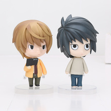 4.2'' Death Note Anime Yagami Light L killer Nendoroid Action Figure Model Toy No.17  NO.12