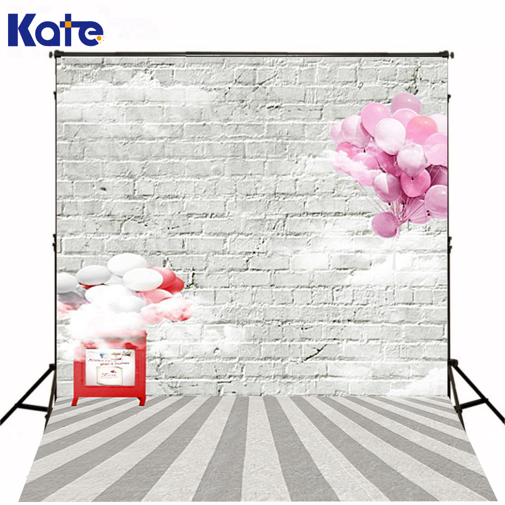 200Cm*150Cm Backgrounds Fence Wall Stands Mighty Tall And Strong Broad Base Of Bricks Clouds Photography Backdrops Photo Lk 1181<br>