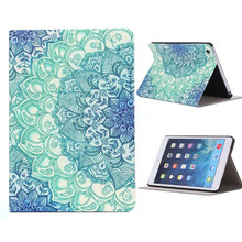 Reliable vintage style Floral Pattern Flip Stand Leather Case Cover For iPad Mini 1 2 3 Retina