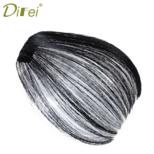 Buy DIFEI Mini Air Flat Bangs Fringe Hair Extensions Clip Hair Hand Tied Bangs Bangs Women for $3.40 in AliExpress store