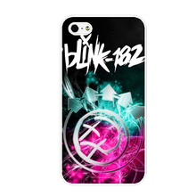Customized Phone Case Blink 182 Logo Galery Hard Case for iphone 4S/5S/SE/6/6S/Plus 7 7plus Mobile Cover