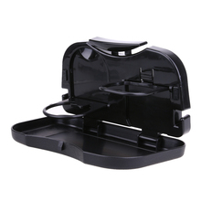 Folding Auto Car Back Seat Table Drink Food Cup Tray Holder Stand Desk Multifunctional Drinking Water Bottle Mount Holder ME3L