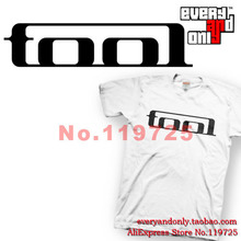 Tool Alternative metal Rock Band Logo 100% Cotton Short-sleeve T-shirt Tee T Multi-color