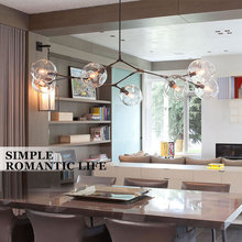 Chandeliers Lighting Modern Lamp Novelty Pendant Lamp Natural Tree Branch Suspension Christmas Light Hotel Dinning Room Black
