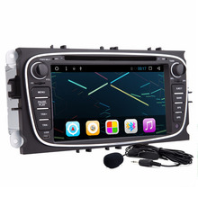 7'' 2Din In Dash Android Car DVD Player For Ford/Mondeo/Focus With Dual Core Wifi GPS Navigation Steering wheel control